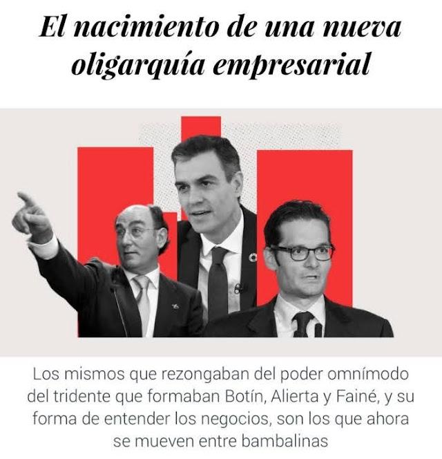 El Confidencial: El nacimiento de una nueva oligarquía empresarial en España