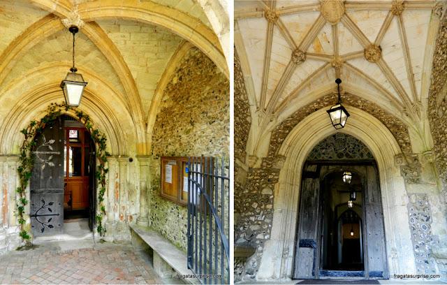 Portaria do Hospital of Saint Cross, Winchester