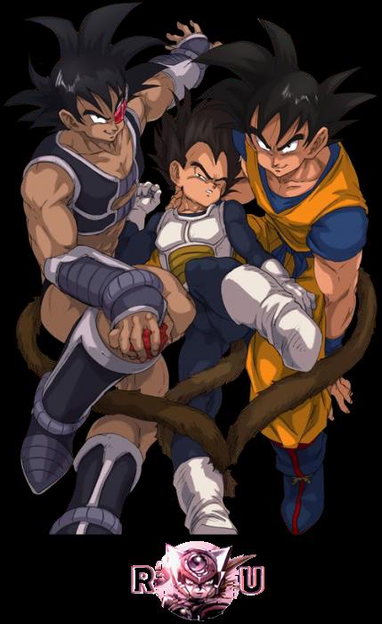 render Turles X Vegeta X Goku