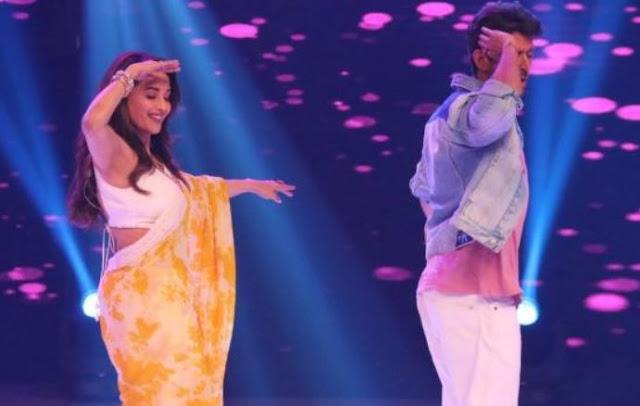 dance deewane hrithik madhuri