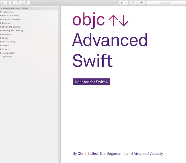 Advanced Swift - A deep dive into Swift's features, from low-level programming to high-level abstractions Objc.io book