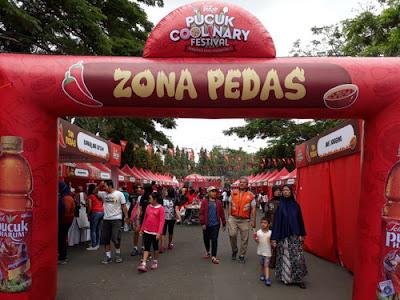 festival kuliner terbesar di malang zona pedas zona manis dan zona gurih