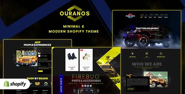 Best Automotive Shopify Theme for Cars & Auto