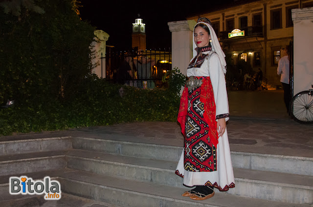 Macedonian national costume - Ethnic area Sredorek