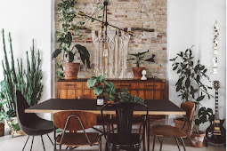 A Cosy Danish Loft Amount Of Plants & Vintage Treasures