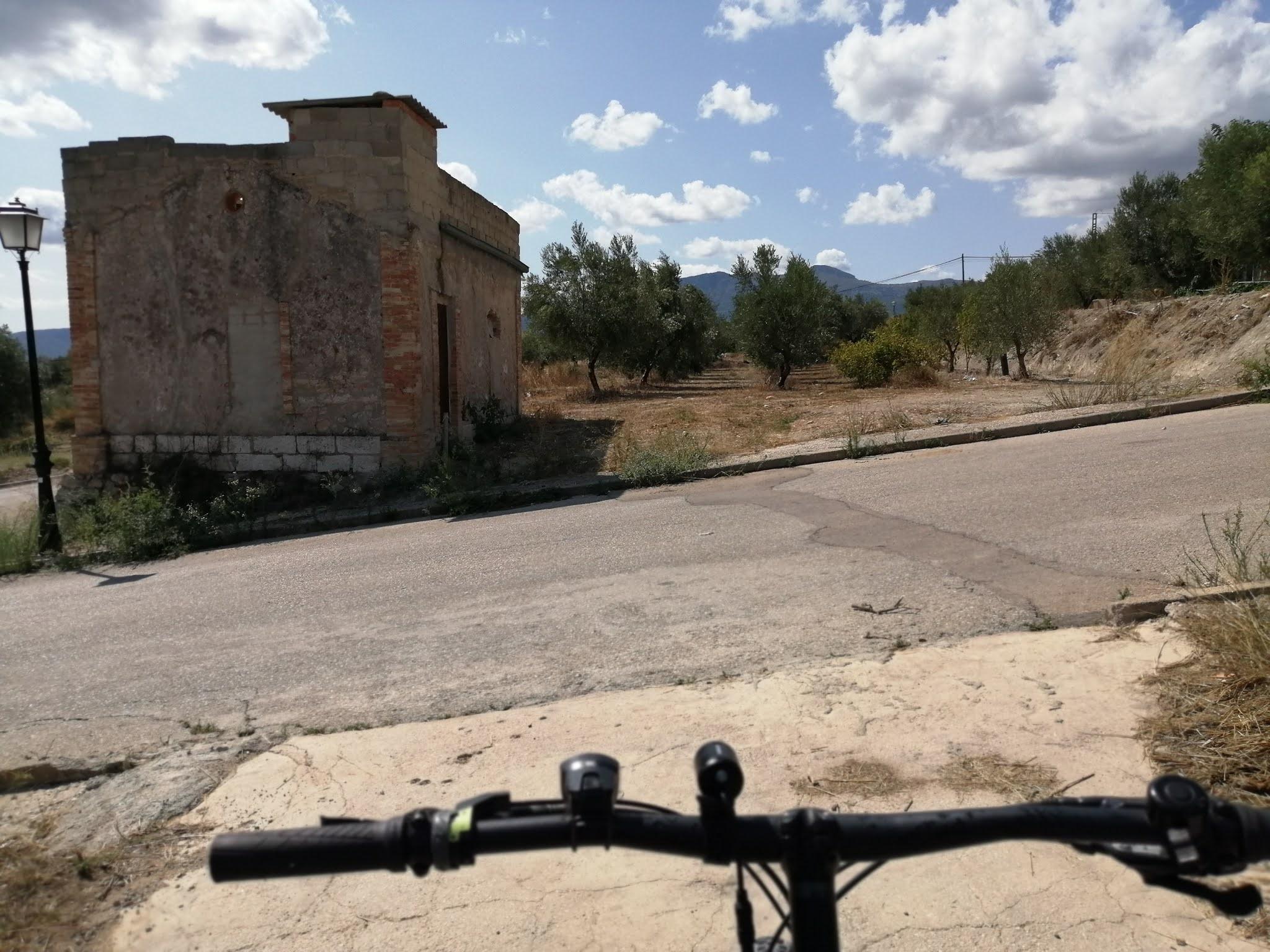 Former railway stop in Gaianes, Alicante