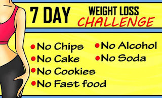 7 Day Challenge To Lose Weight