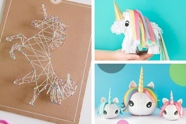 More than 20 unicorn craft ideas - All the best unicorn crafts from unicorn costumes to easy unicorn crafts for preschoolers