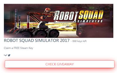 免費序號領取:Robot Squad Simulator 2017