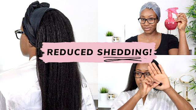 How I Reduce My Excessive Shedding | Relaxed Hair | www.HairliciousInc.com