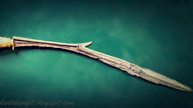 gambar pedang lar bango asli