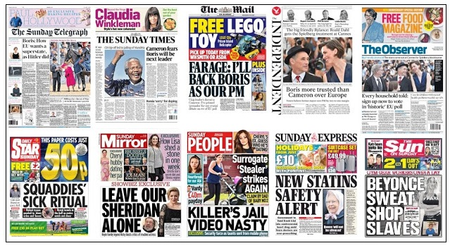 front pages 15-05-16