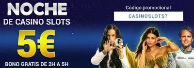 Todoslots 5 euros gratis esta noches 10-3-2021