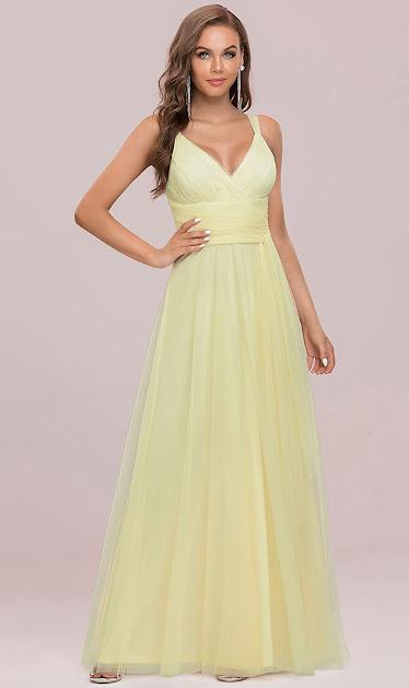 Good Quality Floor Length Chiffon Bridesmaid Dresses