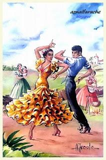 Trajes y bailes típicos de Andalucía - Alberto Iraola - 05
