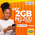 MTN New Data Plans Revised, Get 1.5GB Data For N1000, 2GB Data For N1200