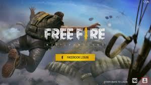 facebook login free fire