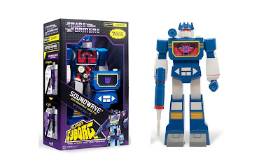 Transformers Super Cyborg Soundwave G1 Edition Action Figure by Super7