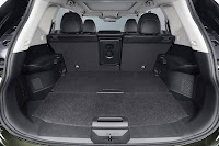 Nissan X-Trail trunk