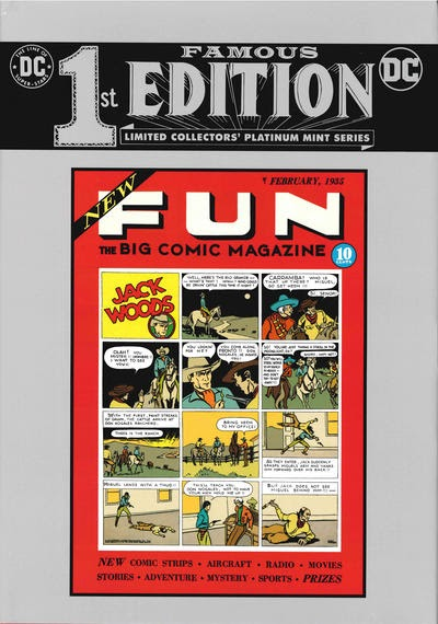 Episode #397: Famous First Edition: New Fun Comics #1!