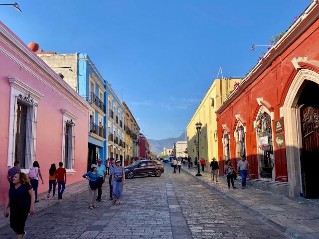Calle Macedonio Alcala, Oaxaca, Mexico