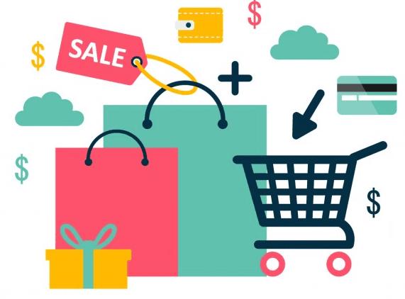 تطبيق بيع وشراء المنتجات