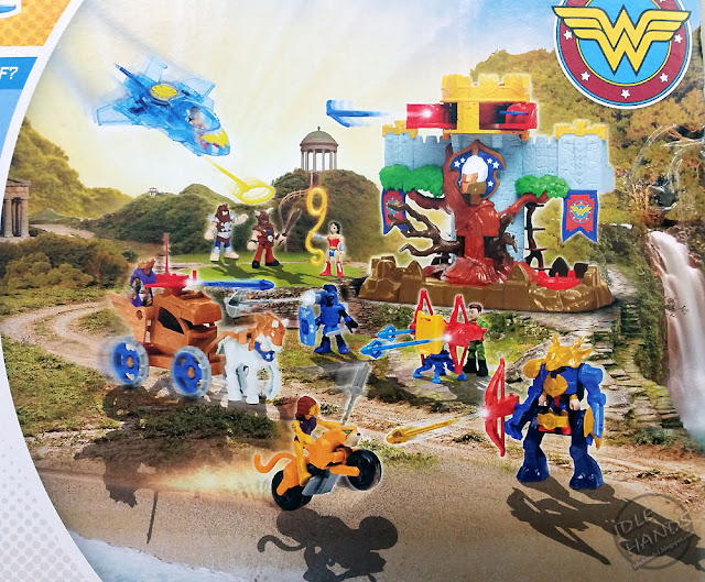 Mattel Imaginext Wonder Woman Toy Line Themyscira Island Playset