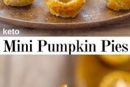 Keto Mini Pumpkin Pies ( Gluten Free )