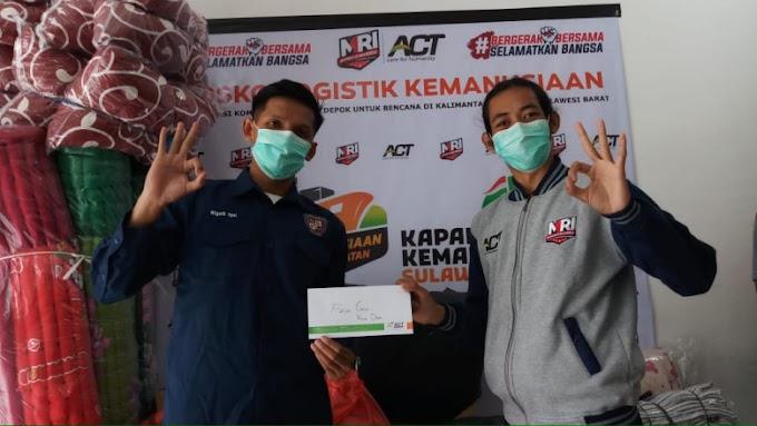 Bantu Korban Gempa, Duta Genre Depok Galang Dana