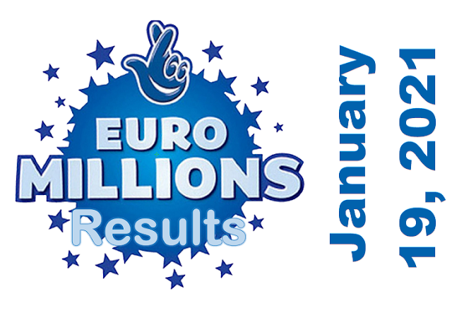 EuroMillions Results for Tuesday, January 19, 2021