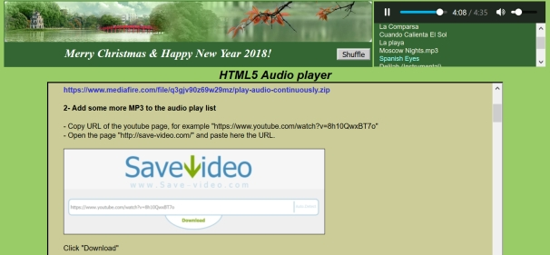 audio file download from website