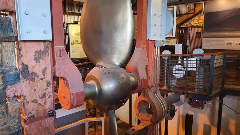 博物館內的船隻螺旋槳