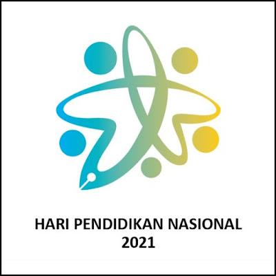 Logo Hari Pendidikan Nasional Tahun 2021