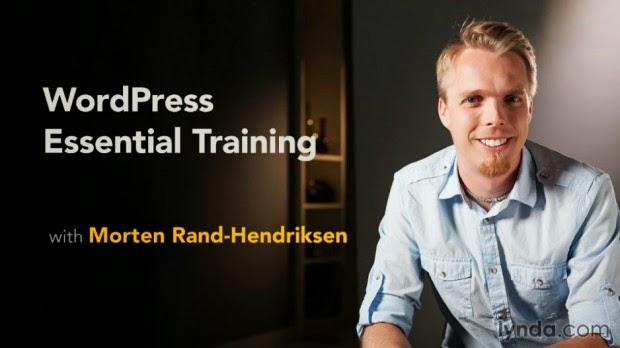 Video học WordPress Essential Training 2014 của Lynda