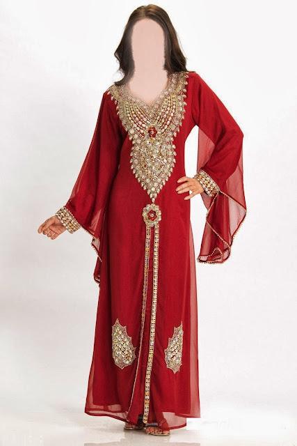 صور ملابس العيد الڭندورة الإمراتية