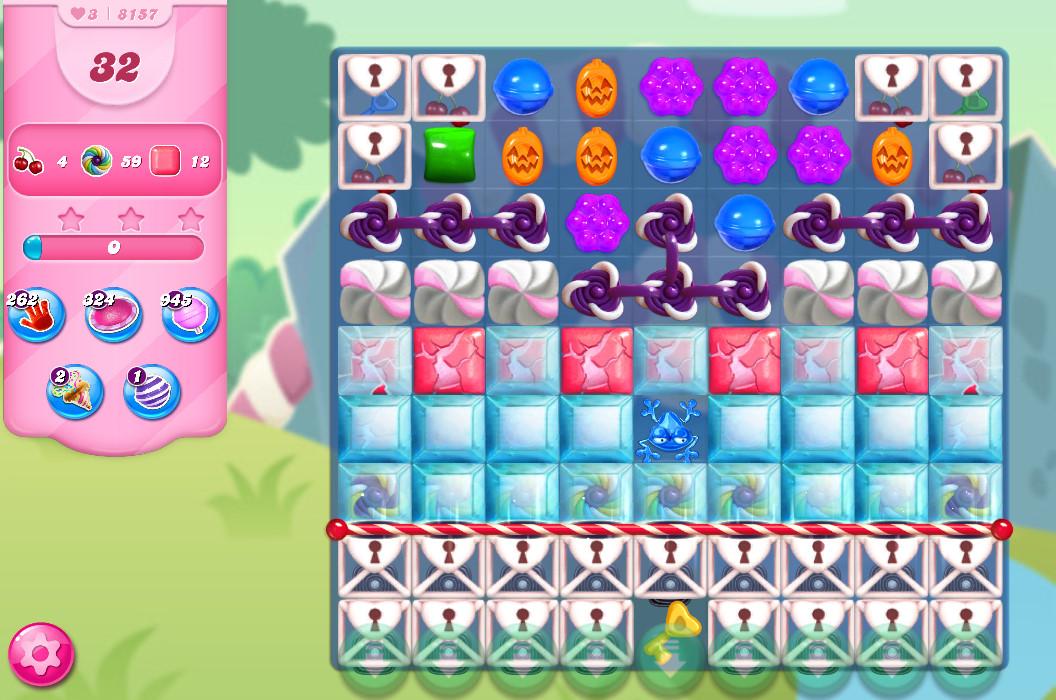 Candy Crush Saga level 8157