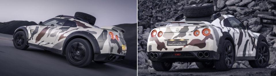Nissan GT-R Godzilla 2.0 - xe thể thao off-road mạnh 600 mã lực