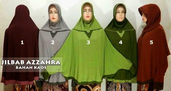 Jilbab jumbo tangan bahan kaos murah