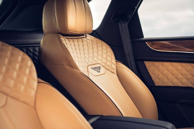 Bentley Bentayga para 4 ocupantes amplia o conforto