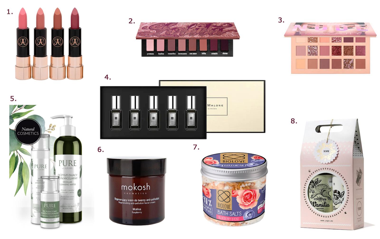 kosmetyki na dzień kobiet Prezenty na dzień kobiet w wersji last minute - prezentownik na 8 marca