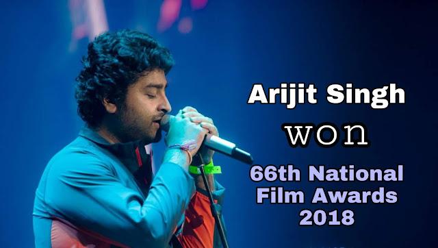 66th National Film Awards: Arijit Singh chosen best playback singer for Padmaavat 66 वें राष्ट्रीय फिल्म पुरस्कार: अरिजीत सिंह ने पद्मावत के लिए सर्वश्रेष्ठ पार्श्व गायक चुना