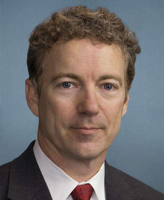 Senator Rand Paul (R Ky)