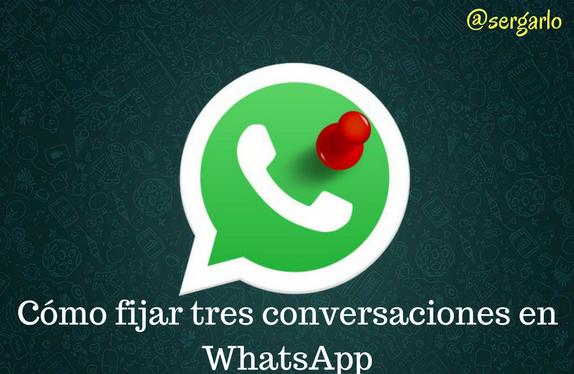 WhatsApp, Mensajería Instantánea, Fijar, App