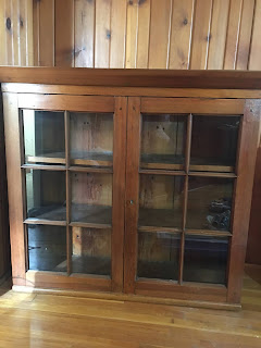 1905 wall cabinet from back entry to Kitchen