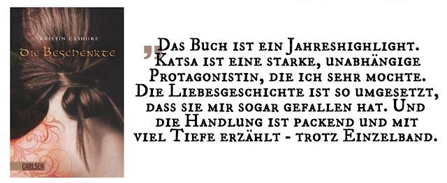 """Highlight September 2019: """"Die sieben Königreiche 1: Die Beschenkte"""" von Kristin Cashore"""