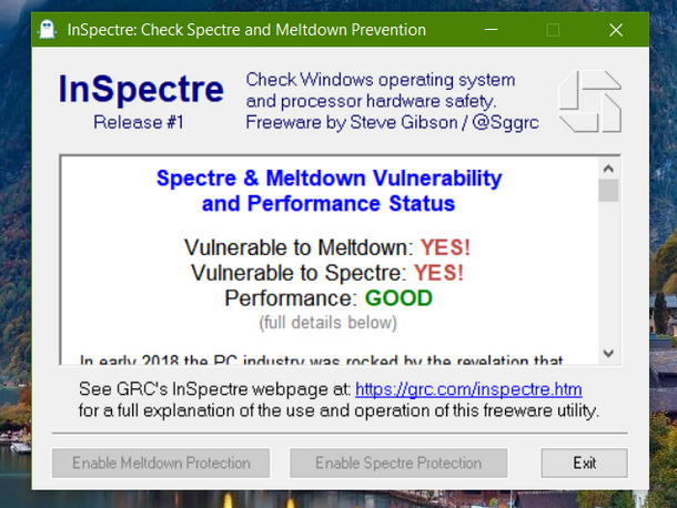 Guide To Check And Update PC For Spectre & Meltdown