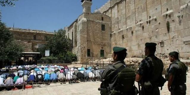 Israel Gembok Masjid Ibrahimi dan Larang Umat Islam Beribadah Selama Paskah