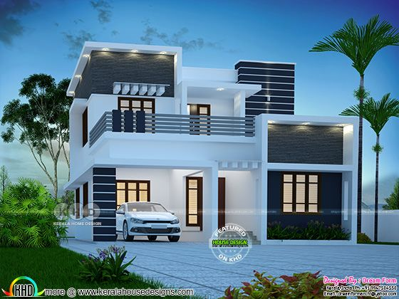 3 bedroom modern style 1655 sq-ft house
