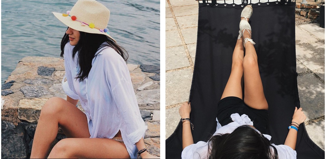 beach dress new look instagram outfit diary