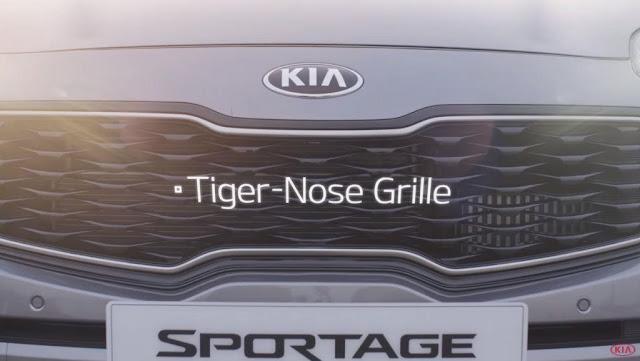 Foto KIA Sportage 2016 griglia anteriore 3d